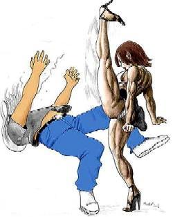 man-hating martial arts